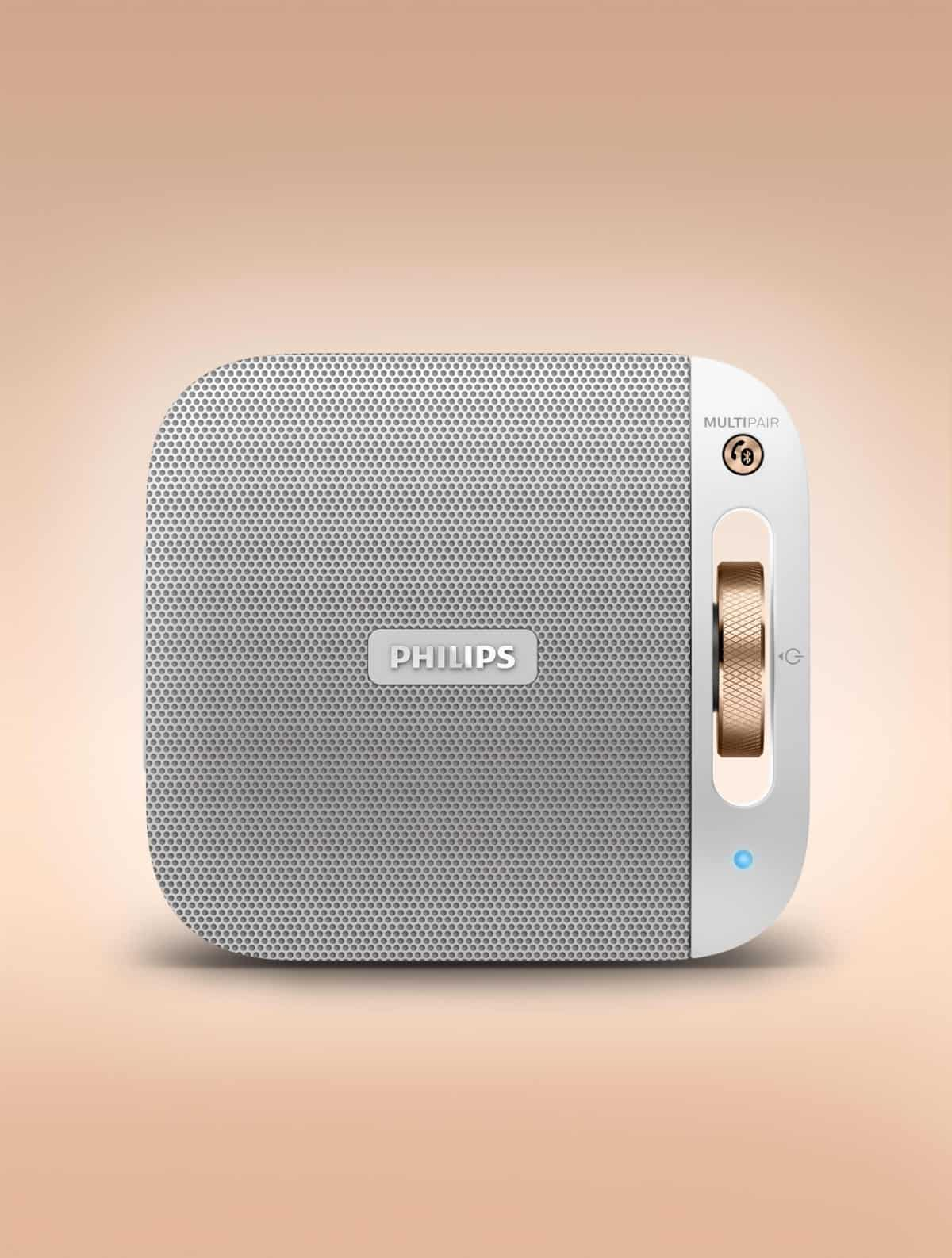 New Philips Portable Bluetooth Speaker BT2600