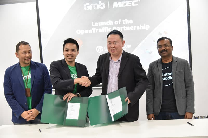 Grab and MDEC together with the World Bank Group Launch OpenTraffic Platform in Malaysia to Combat Local Traffic Woes