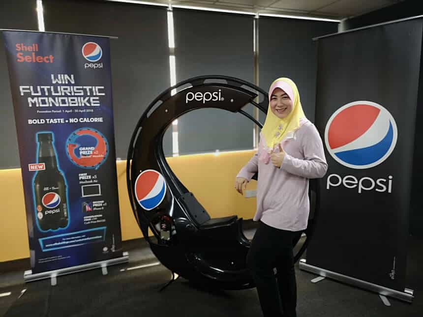 Read more about the article Stepping into the future: Pepsi congratulates the winners of its Futuristic Monobike contest