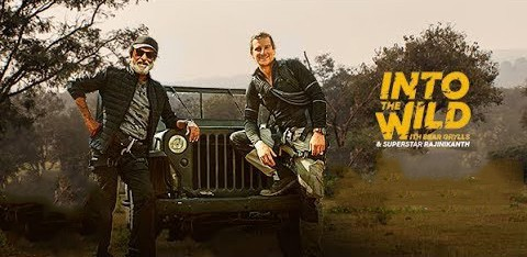Read more about the article Indian superstar Rajinikanth makes his television debut on Discovery Channel's 'Into the Wild with Bear Grylls'