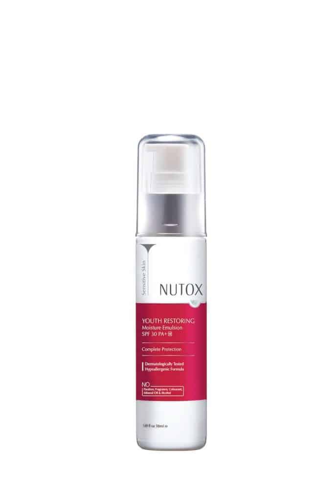 Nutox Youth Restoring Range_Moisture Emulsion