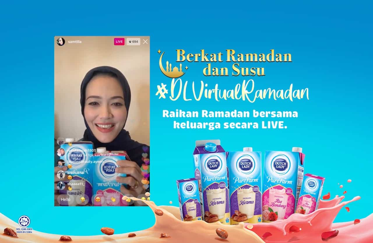 Read more about the article Dutch Lady Milk Industries Berhad brings Malaysians together through meaningful virtual Ramadan experience