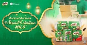 Read more about the article Beramal bersama #SkuadKebaikan MILO® di Shopee sepanjang Ramadan demi membantu golongan yang memerlukan