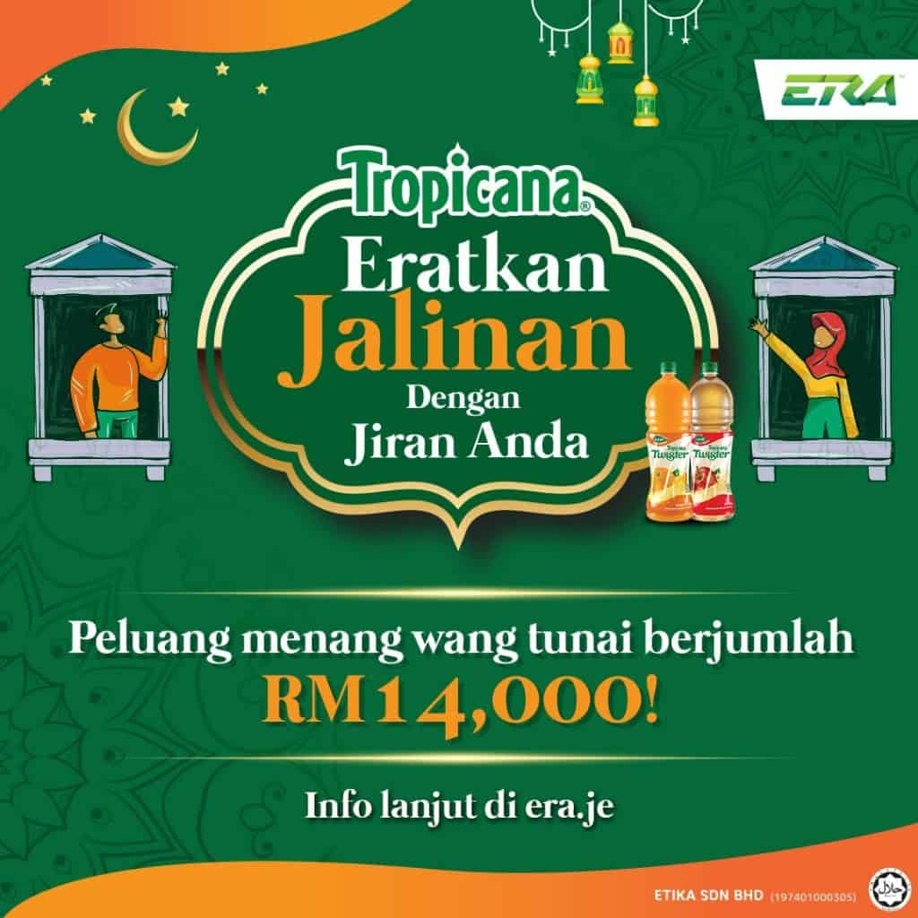 Let's Foster A Warm Community With Our Neighbours With Tropicana