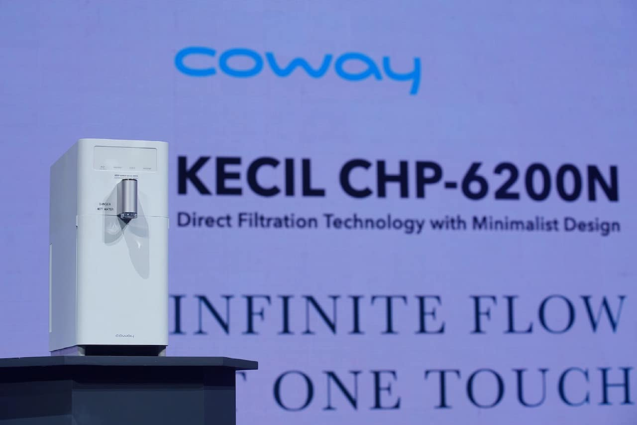 Read more about the article Coway Unveils 'Kecil' Water Purifier For Cosmopolitan Homes