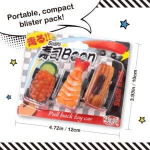 Read more about the article Kitamura Sample Realistic Sushi Toys Arrive in North America