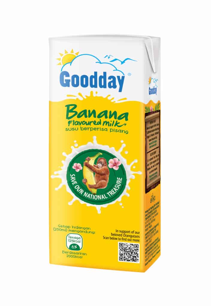 Goodday Milk to create awareness and educate Malaysians towards the preservation of Borneon orangutans