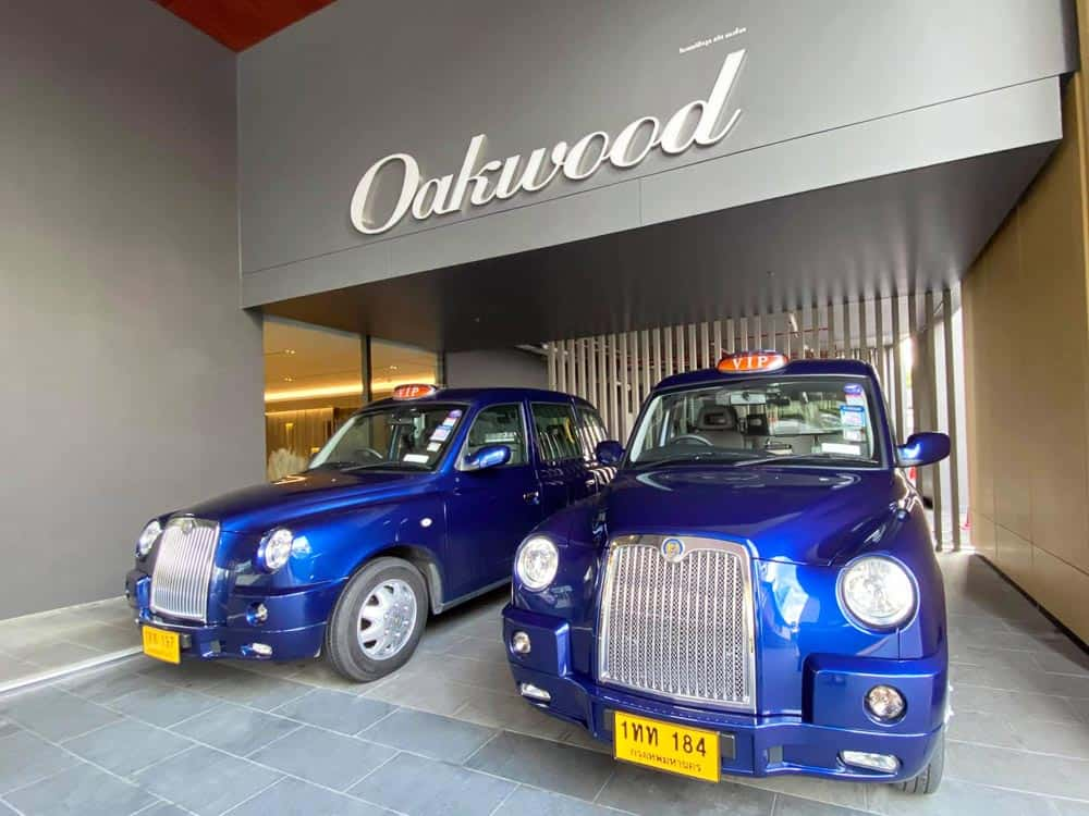 Oakwood Drives Service Innovation with Launch of CABB Taxi Service for Guests in Bangkok