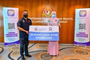 Read more about the article RMHC Malaysia ushers in the New Year with RM100,000 donated to 50 orphanages across the nation