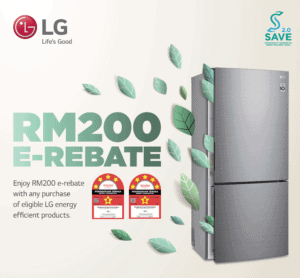 Read more about the article SAVE 2.0 Get RM200 e-Rebate on New Energy-Saving LG Refrigerators
