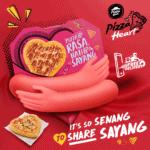 Ungkapkan Kasih Sayang Dari Maya Ke Realiti Dengan Kiriman Piza 'Hati' Buat Mereka Yang Jauh Dimata