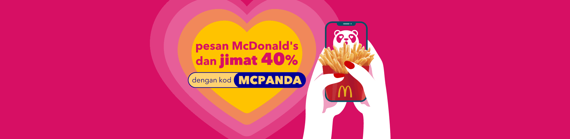 Read more about the article foodpanda Has Got Your McDonald's Cravings Covered – New Voucher Offers 40% Discount on McDonald's Orders