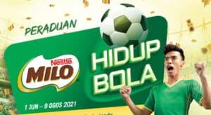 Read more about the article MILO® Membawakan Peraduan MILO® Hidup Bola dengan Ganjaran Bernilai Lebih RM550,000!