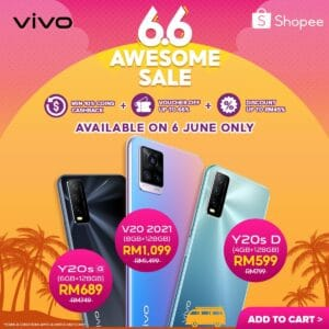 Read more about the article vivo x Shopee 6.6 Awesome Sale offers limited time great deals on 6 June