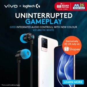 """Read more about the article """"Meet the New Match"""" Exclusive vivo x Logitech G Bundle Deal Available on Shopee Starting this 20 July"""
