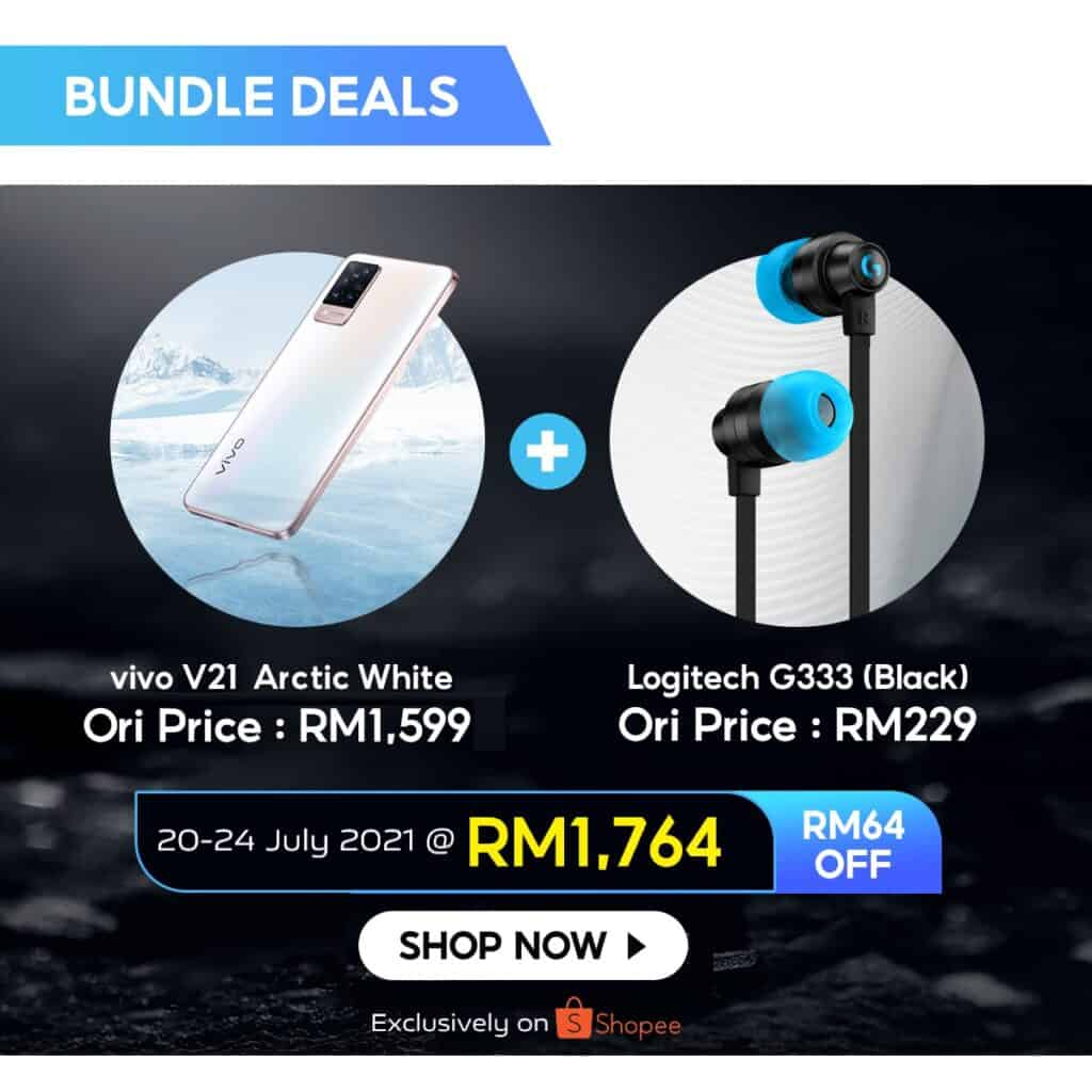 """Meet the New Match"""" Exclusive vivo x Logitech G Bundle Deal Available on Shopee Starting this 20 July"""