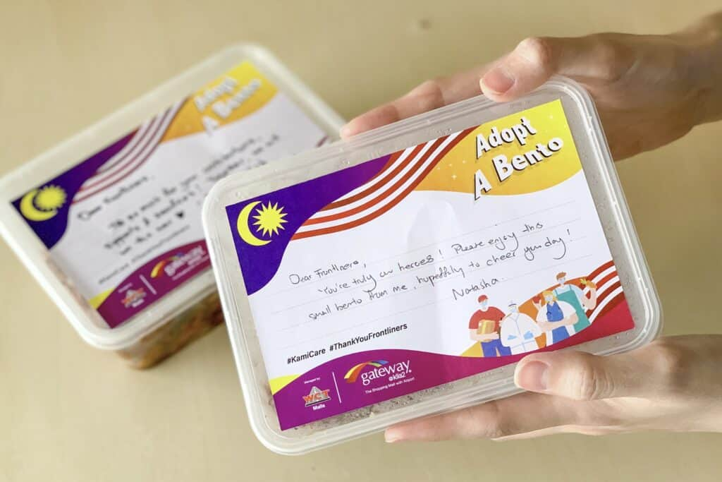 gateway@klia2 Invites Shoppers To 'Adopt A Bento' And Dedicate Your Messages Of Support To The Frontliners