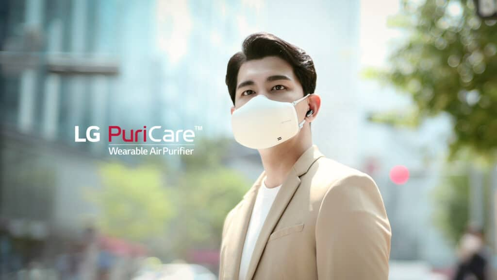 Breathe Better with the LG PuriCare™ Wearable Air Purifier