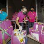 #KitaTeguhBersama : Astro Menyumbangkan Pek Makanan kepada 800 Keluarga Yang Memerlukan