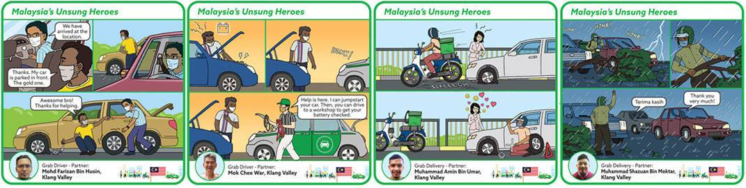 Grab Continues to Shine the Spotlight on Malaysia's Unsung Heroes