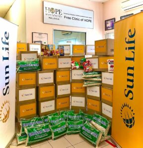 Read more about the article Sun Life Malaysia Contributes RM120,000 Towards COVID-19 Support Programme