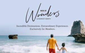 """Read more about the article Marriott Bonvoy Unveils Second Annual """"Week of Wonders"""" Featuring Awe-Inspiring Travel Offers Exclusively for Members, Oct. 7-14"""