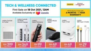 Read more about the article Stay Tech and Wellness Connected With The Latest Additions of The Realme AIoT Family